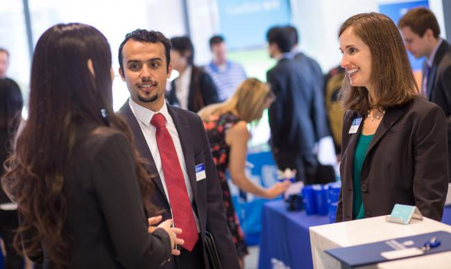 JHU Carey business school career fair