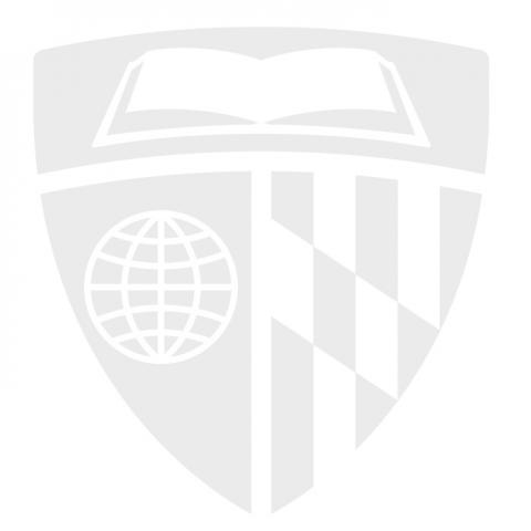 gray Johns Hopkins Logo shield