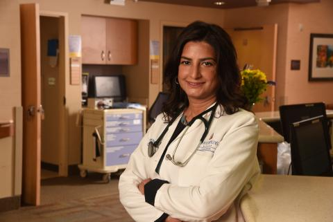 Ayesha Khalil, a hospitalist and inpatient provider at Howard County (Maryland) General Hospital