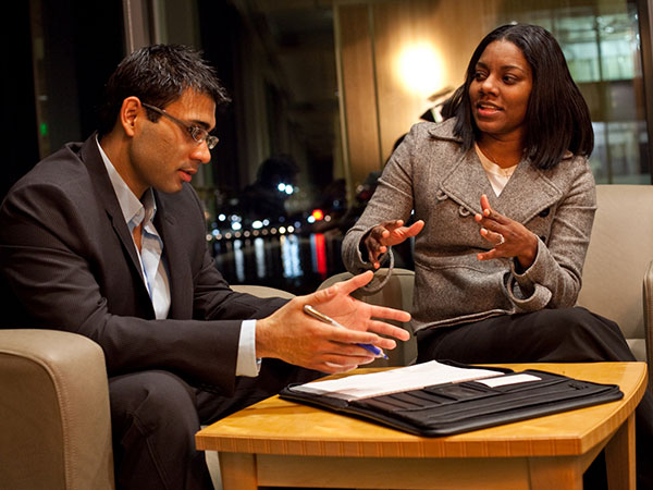 Improving your management skills through practice.