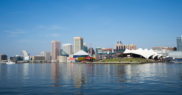Join a tour in downtown Baltimore