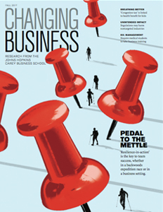 Changing Business Fall 2017 Cover