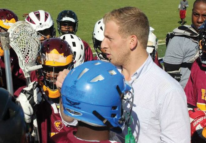 Youth Lacrosse Program Started in NY by Carey Student Comes to Baltimore image