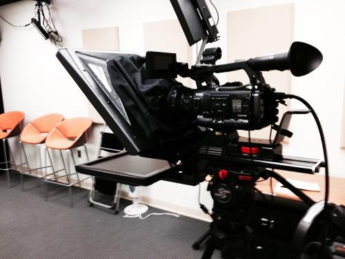 carey business school media room equipment