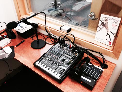 carey business school media room sound room