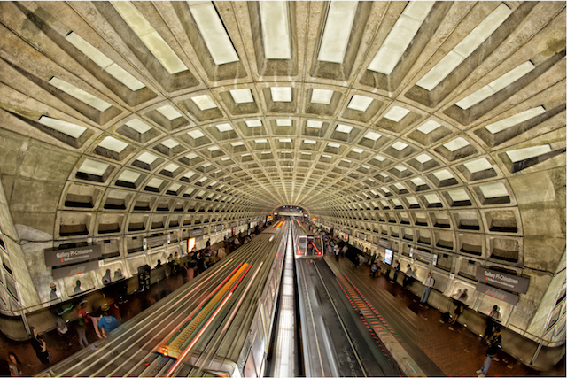 washington, dc metro station