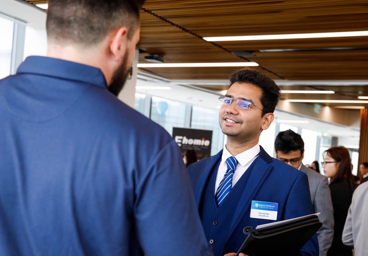 Strong Turnout Drives Fifth Annual Career Fair | Johns Hopkins Carey