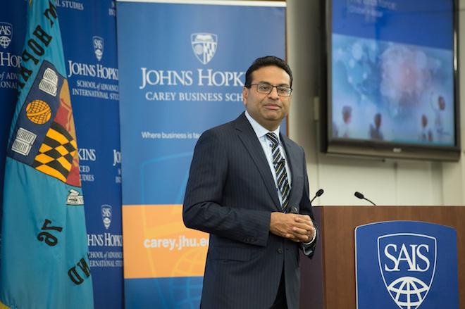 PepsiCo Executive Visits Johns Hopkins image